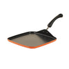 "Meyer 2-Piece Set - Square Tawa 28cm + 9"" Silicone Tongs - Pots and Pans"