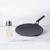 Meyer 2pcs Set - 26cm Cast Iron Roti Tawa + Oil Sprayer - Pots and Pans