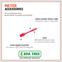 Meyer Silicone Brush, Red - Pots and Pans