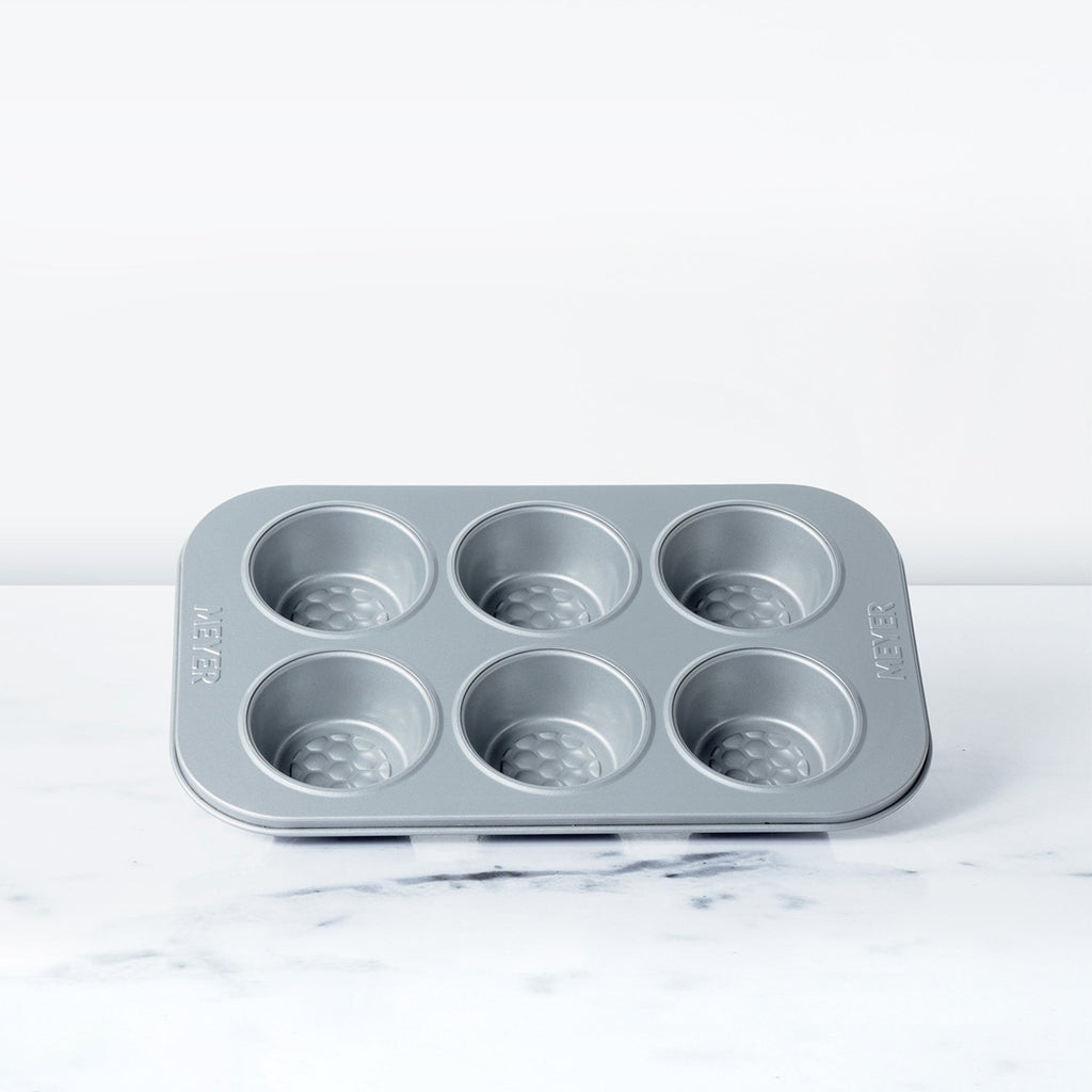Meyer Bakemaster 6 Cup Deep Muffin Pan - Pots and Pans