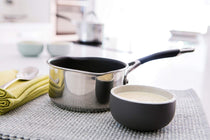 Circulon Momentum 14cm Non-Stick + Stainless Steel Milkpan (Gas & Induction Compatible) - Pots and Pans