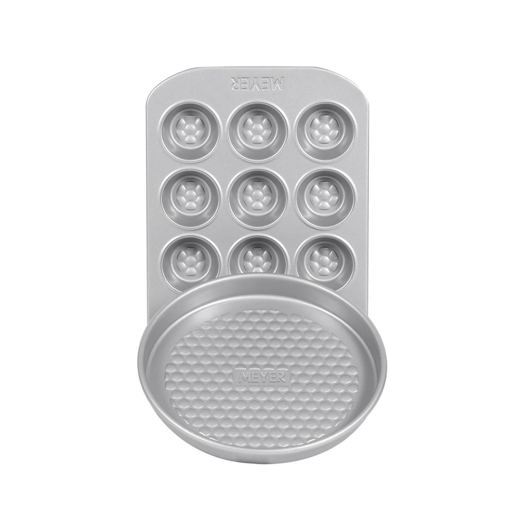 "12 Cup Mini Muffin Pan + 20cm/8"" Pie Tin"