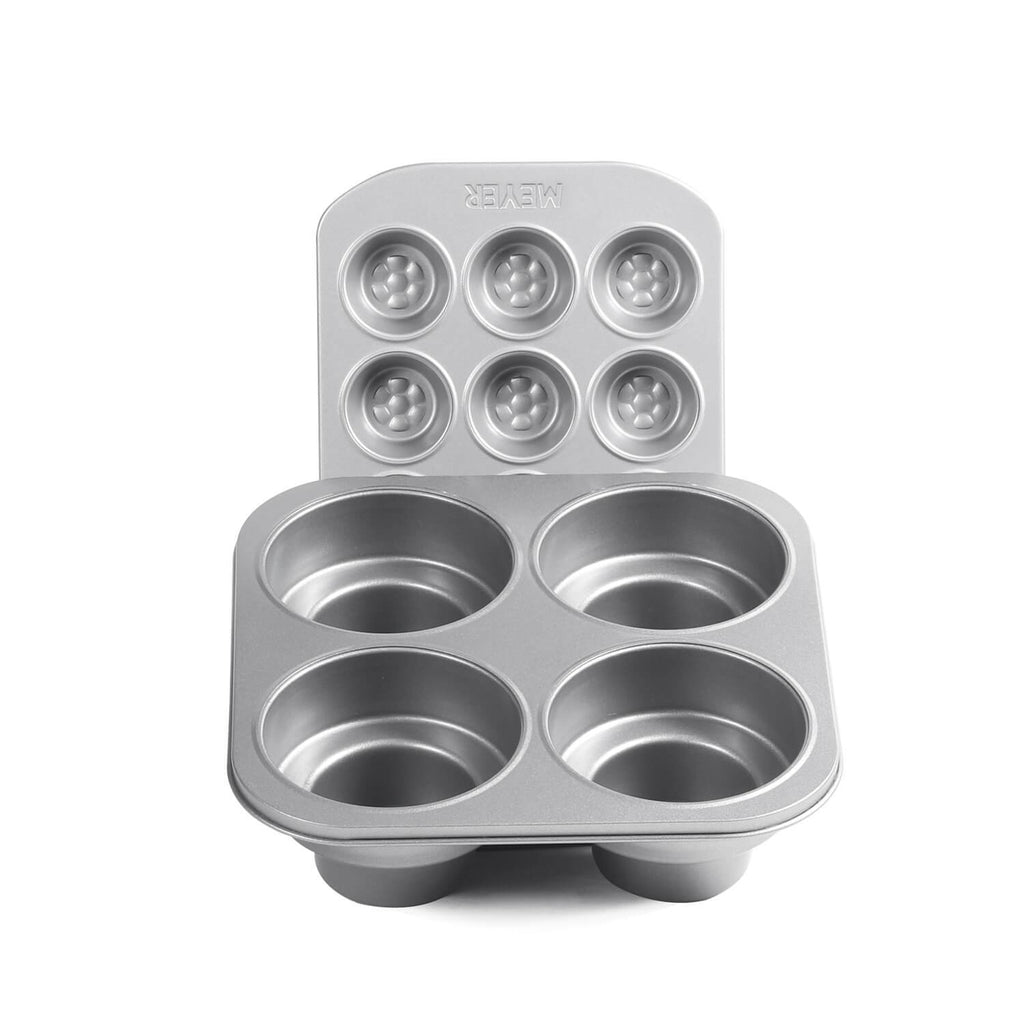 12 Cup Mini Muffin Pan + 4 Cup Round Cakelette Pan