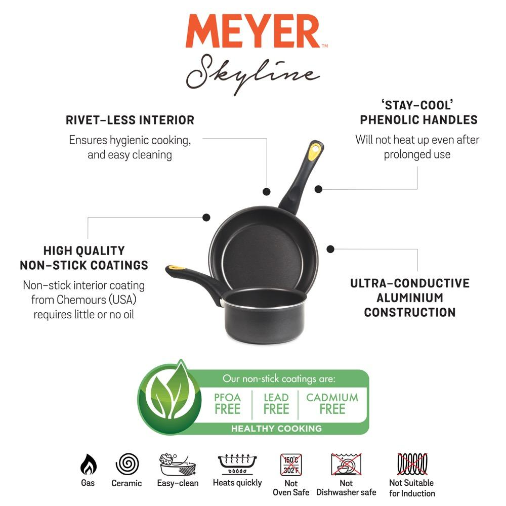 Meyer Skyline 2 piece cookware set information