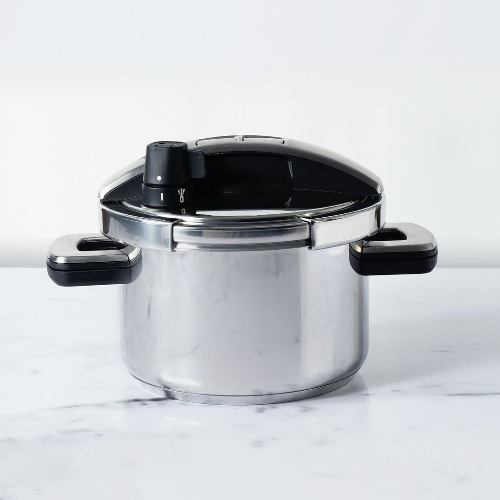 Meyer Stainless Steel 4L 'Single Hand' High Pressure Cooker - Pots and Pans