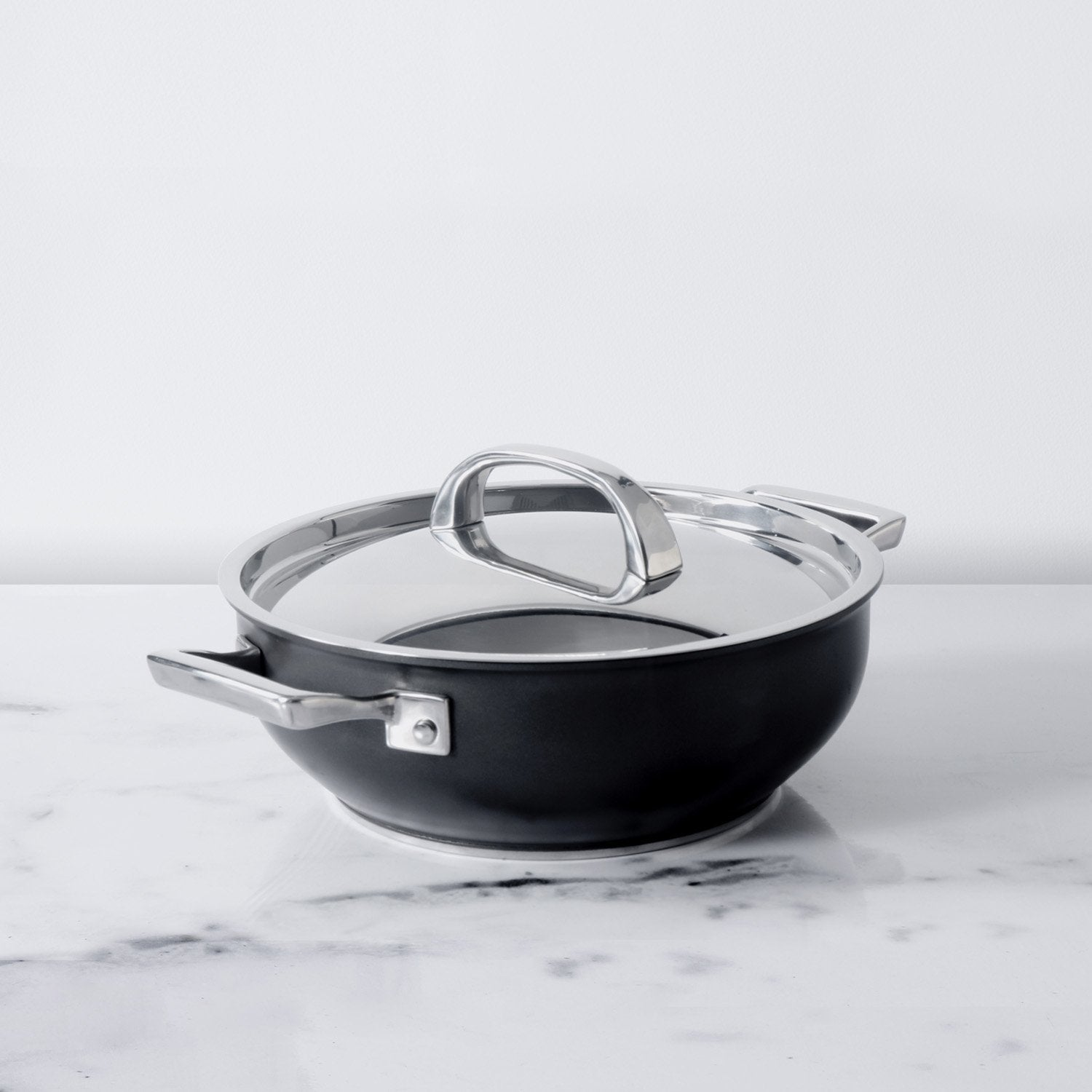 Infinite Non-Stick + Hard Anodized Chef's Casserole/Biryani Pot 4.3L/26cm (Gas & Induction Compatible)