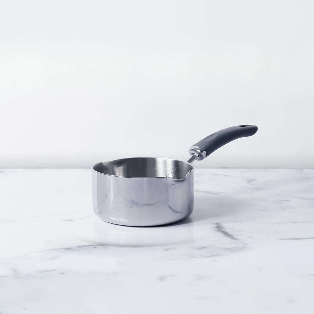 Meyer Trivantage Milkpan, 14cm - Pots and Pans