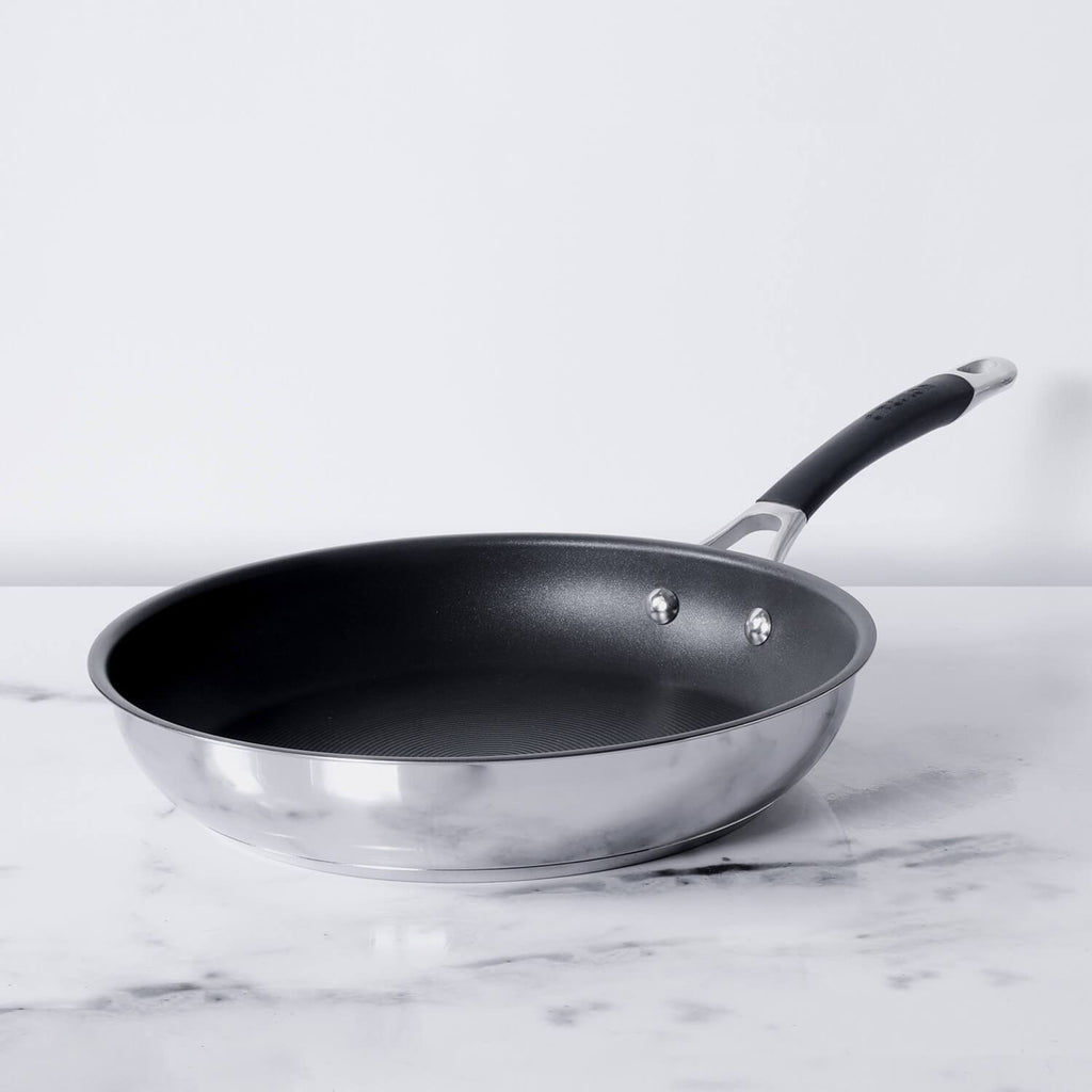 Circulon Momentum (Non-Stick+Stainless Steel) Fry Pan 29 cm (Induction and Gas Compatible) - Pots and Pans