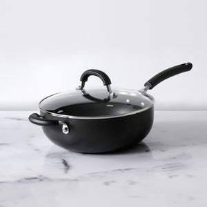 Circulon Origins 26cm Chef's Pan Non-Stick + Hard Anodized, Grey (Suitable For Gas & Induction) - Pots and Pans