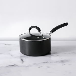 Origins Non-Stick + Hard Anodized Saucepan 18cm, Grey (Suitable For Gas & Induction)