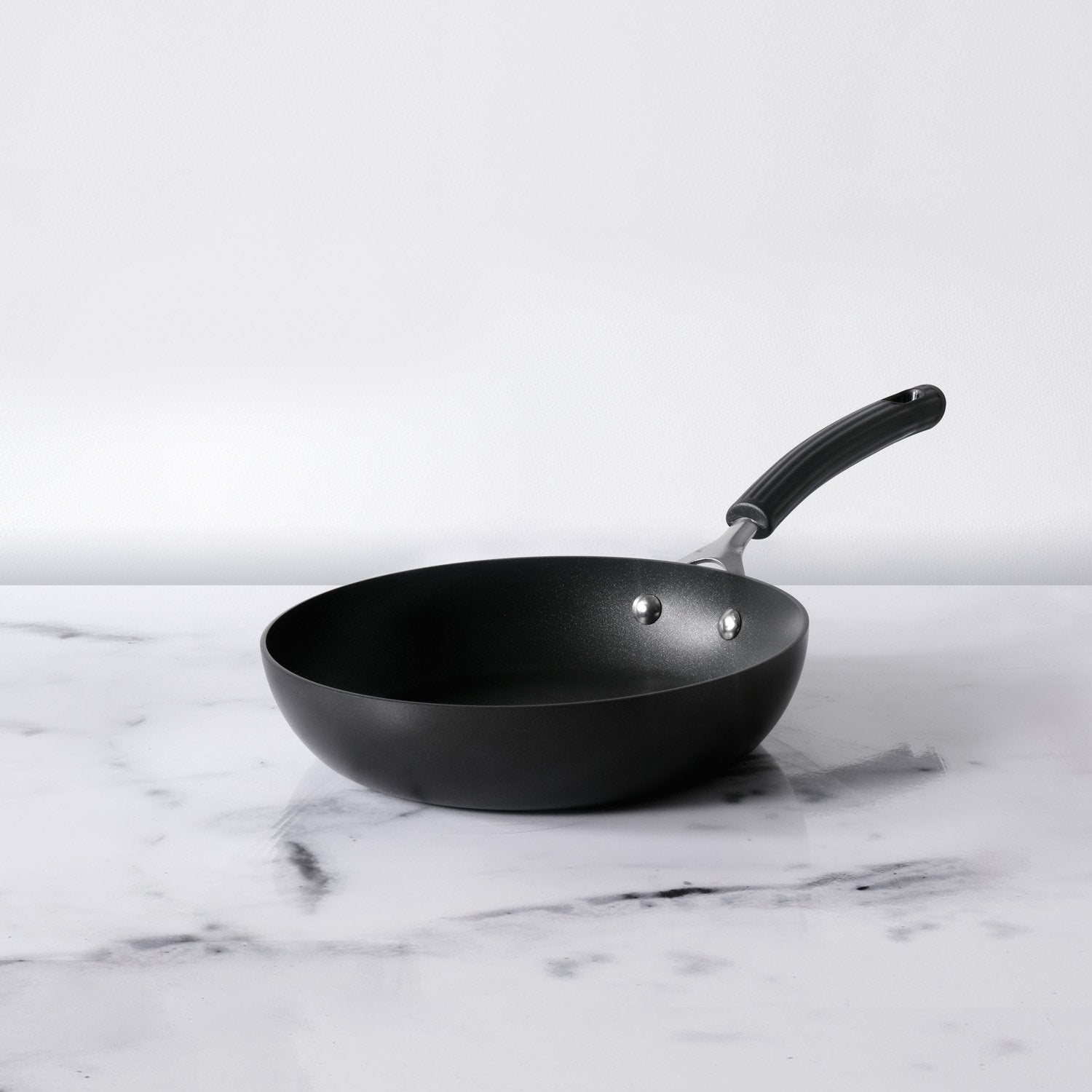 Origins Non-Stick + Hard Anodized Skillet 24cm, Grey (Suitable For Gas & Induction)