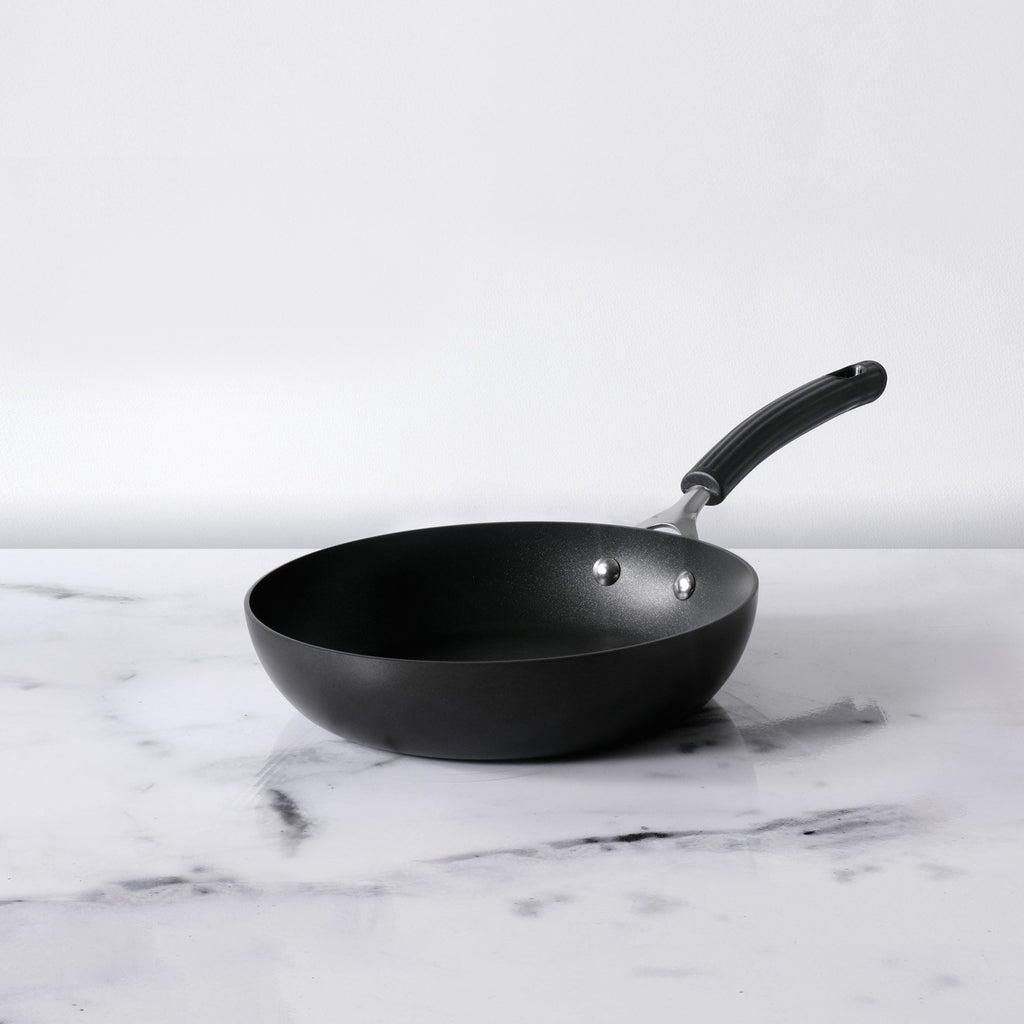 Origins Non-Stick + Hard Anodized Skillet 24cm, Grey (Suitable For Gas & Induction) - Pots and Pans