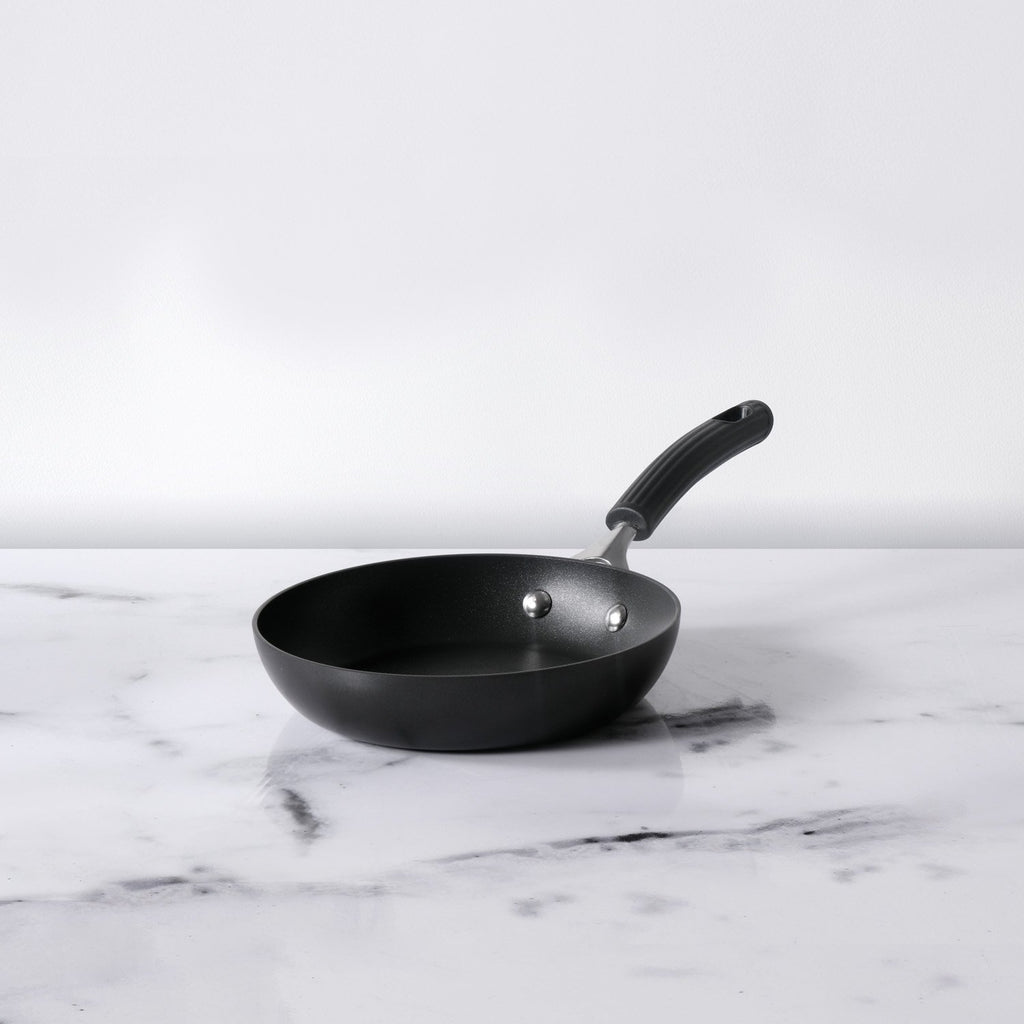Origins Non-Stick + Hard Anodized Skillet 20cm, Grey (Suitable For Gas & Induction) - Pots and Pans