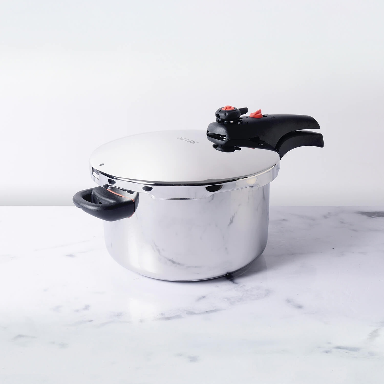 Meyer Presta Stainless Steel Dual Pressure Cooker, 4L - Pots and Pans