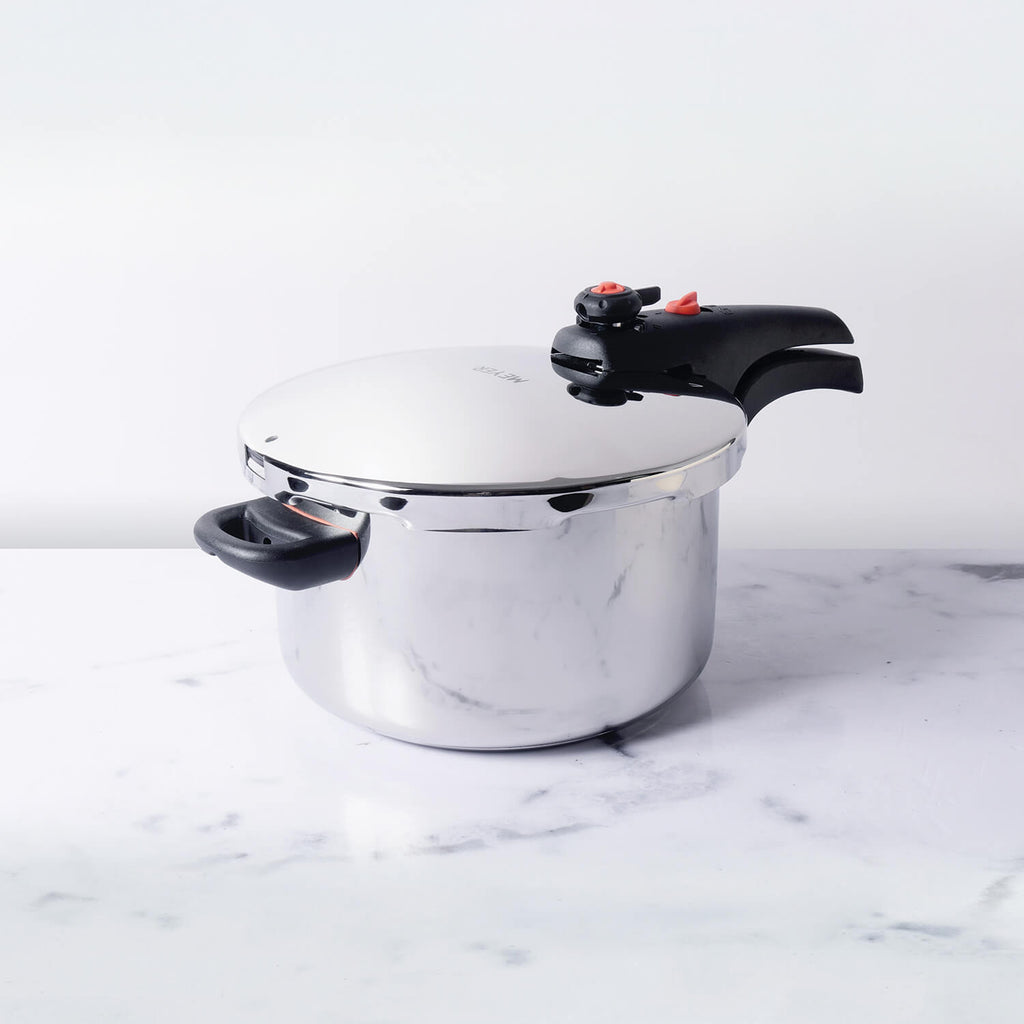 Meyer Presta Stainless Steel Dual Pressure Cooker, 6L - Pots and Pans