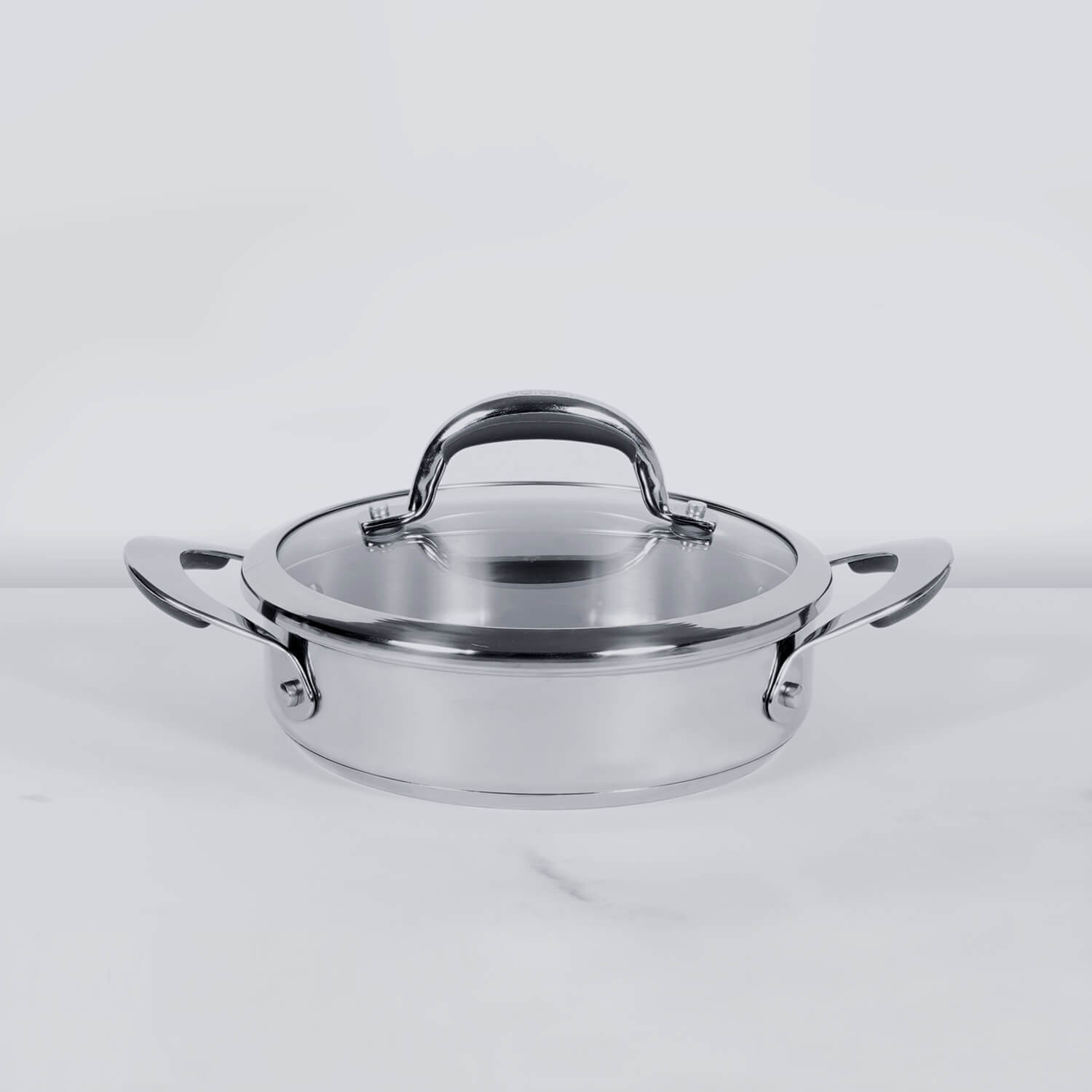 Meyer Select Stainless Steel Sauteuse 24cm (Induction & Gas Compatible) - Pots and Pans