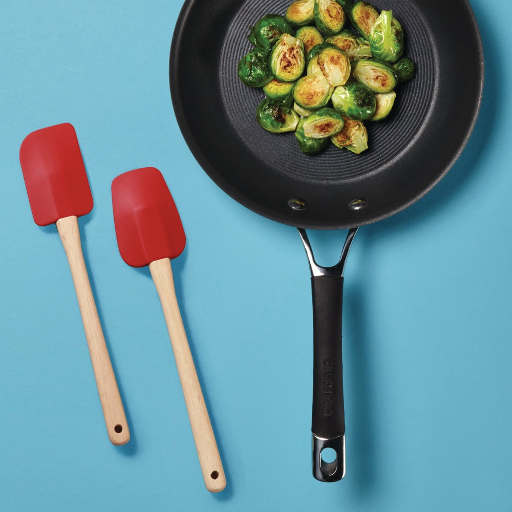 Meyer 2 Piece Set - Heavy Duty Silicone Spoonula and Spatula - Pots and Pans