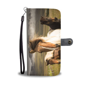 Fan of Horses Phone Wallet Case