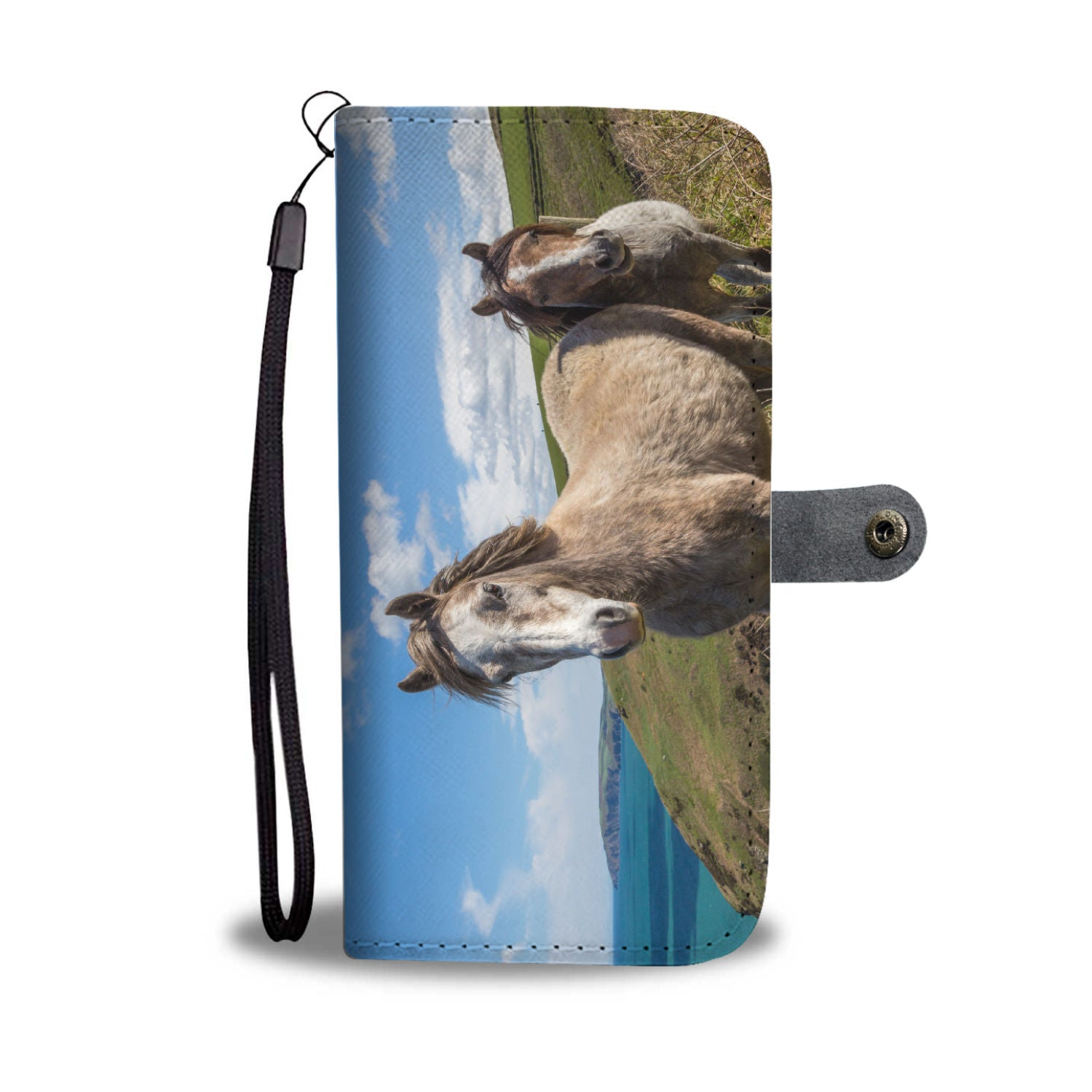 Fan of Horses A Coastal Tale Phone and Wallet Case