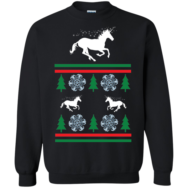 Ugly Unicorn Sweatshirt black