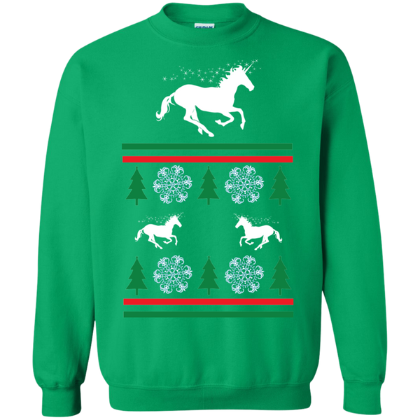 Ugly Unicorn Sweatshirt irish green