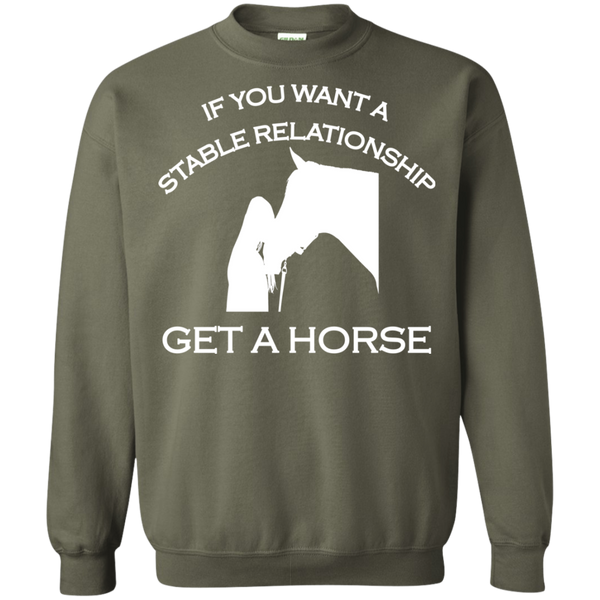Stable Relationship Pullover Sweatshirt