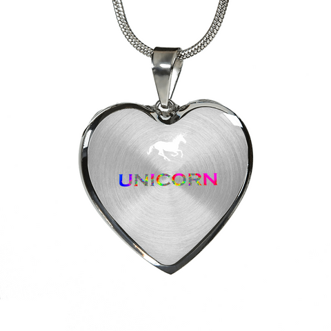 Unicorn Gold and Silver Necklace
