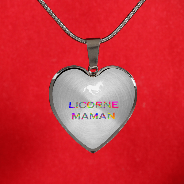 Licorne Maman Collier Necklace