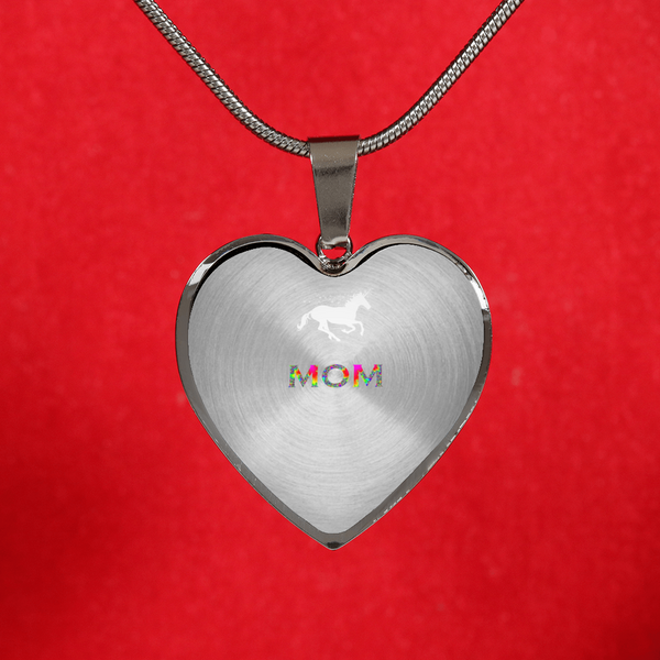 To my Mom Unicorn Necklace