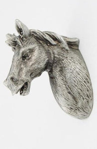Vintage Horses Head Door Handle