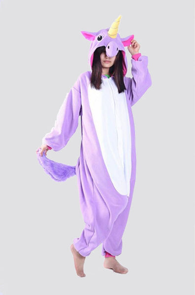 purple unicorn pajamas