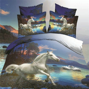 Galloping Horse Comforter - Queen 4pcs