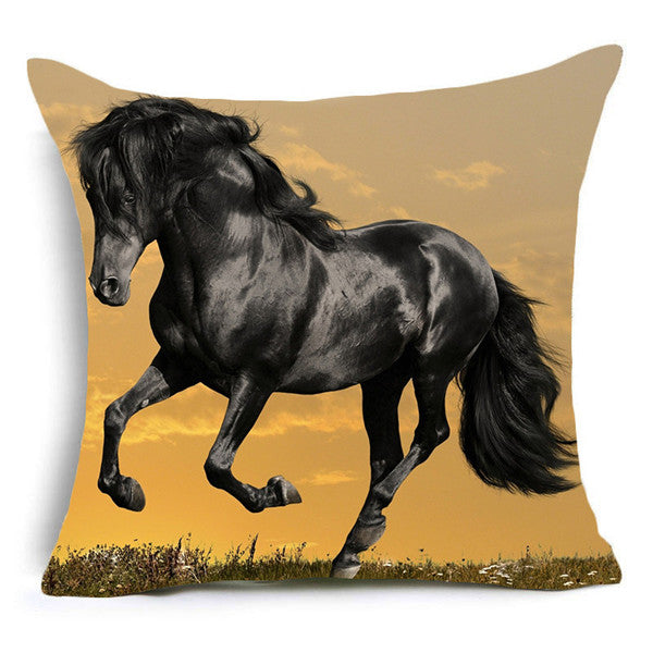 Fabulous Galloping Horse Cushion Collection