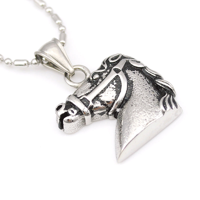 Cool Horse Head Necklace