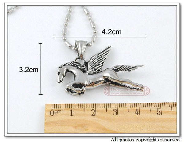 Pegasus Pendant Necklace