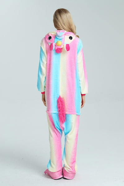 Lovely Flannel Unicorn Full Body Costume pajamas