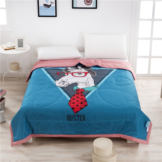 Cute Horse Bed Cover