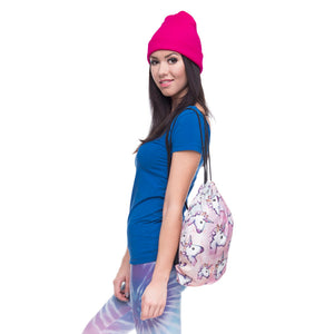 Cute Unicorn Drawstring Bag