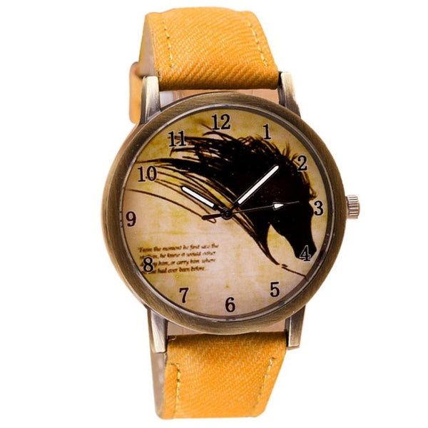 Beautiful Horse Watch