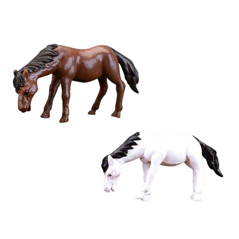 Resin Miniture Horse Toy Figurines