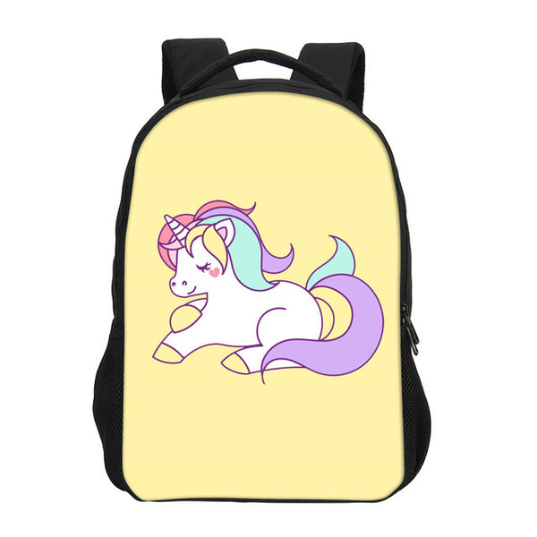 Cute Unicorn Dab Backpack