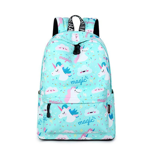 Cute Waterproof Unicorn Backpack