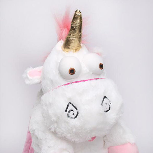 Cute n Fluffy Unicorn Backpack
