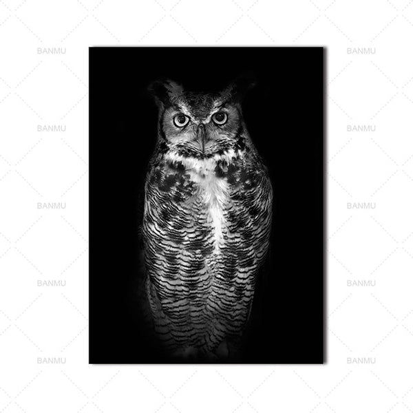 Home decor Wall art animal canvas painting  Wall Pictures print  for Living Room Art Decoration Pictures No Frame morden print