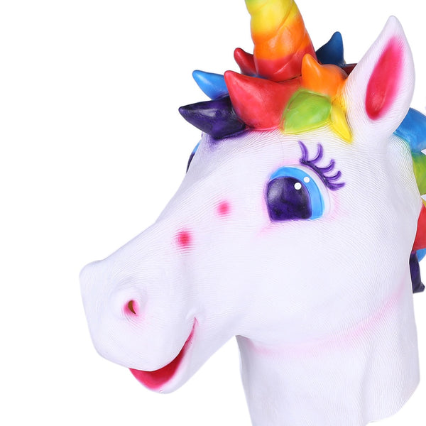 Flashy Unicorn Head Masks