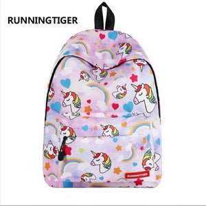 Cute Unicorn Backpack Mochila