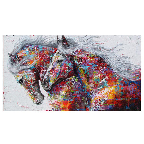 DIY Diamond Painting Horse Kit