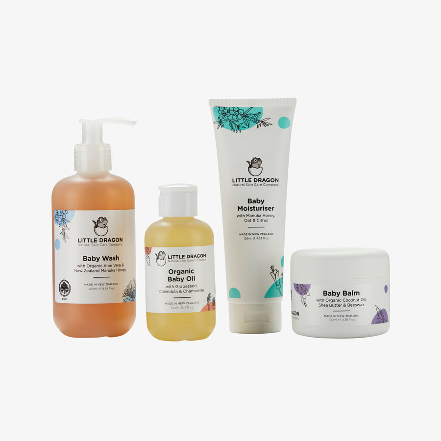 Baby Essentials natural Gift pack made by Little Dragon Skincare