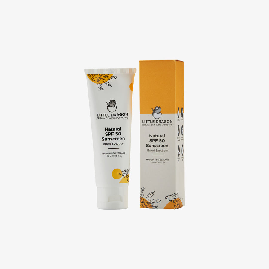 Natural SPF50 Sunscreen- two sizes available