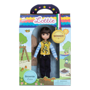 LOTTIE Brownie Doll
